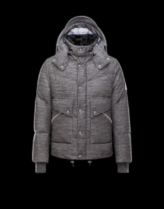 MONCLER JACKETS Men Gray
