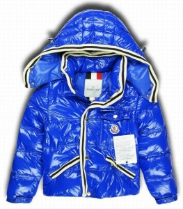 Moncler Branson Kids Jacket Royal Blue