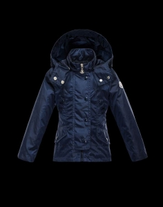 Moncler Cappotto Kids Jacket Blue