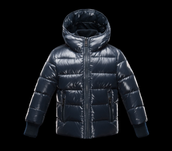 Moncler Enfant Aubert Kids Jacket Dark Blue