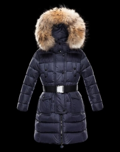 Moncler Enfant Genevrier Kids Jacket Blue