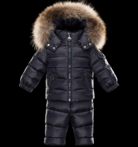 Moncler Enfant Mauger Kids Suits Navy Blue