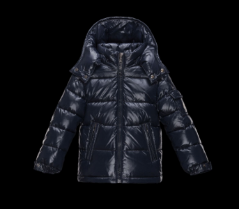 Moncler Enfant Maya Kids Jacket Navy Blue