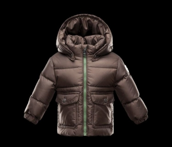Moncler Enfant Reims Kids Jacket Gold Brown