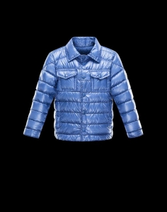 Moncler Gregoire Kids Jacket Blue