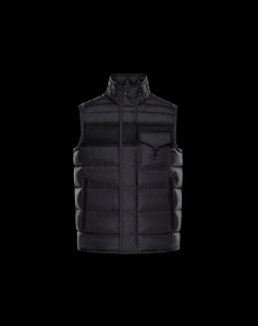 MONCLER ATHOS MEN VEST Black