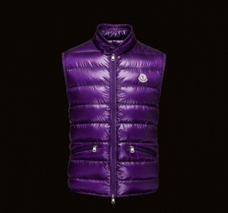 MONCLER GUI Men VEST Purple