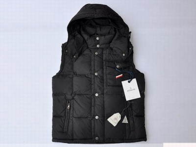 Moncler Verdon Men Vest Black